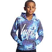 Hype Blue Cosmic Overhead Hoody Junior