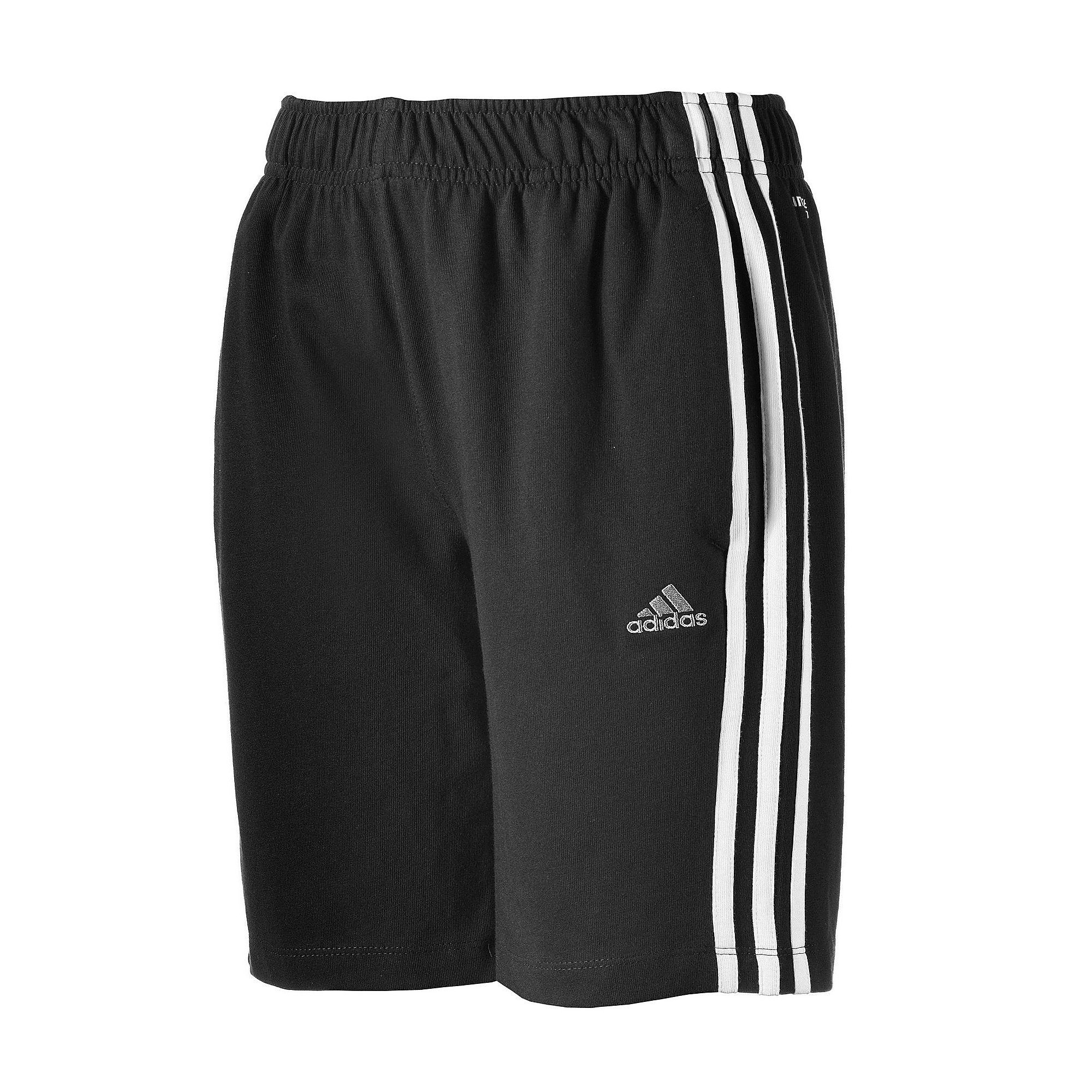 adidas 3 STRIPES JERSEY SHORT