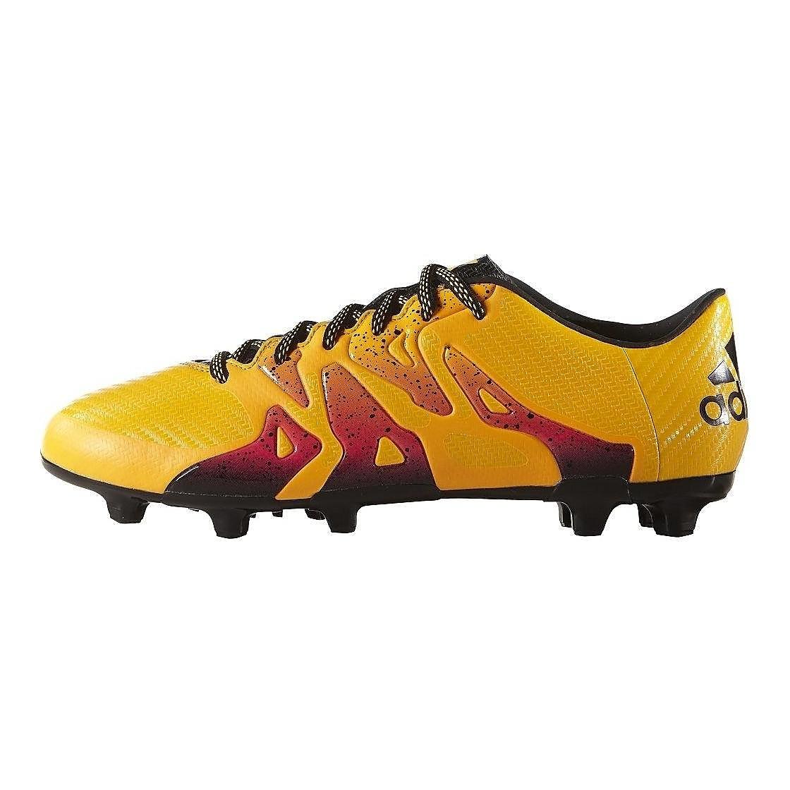 voetbalschoenen voor volwassenen FG-AG Chaos X 16.3 oranje-rood