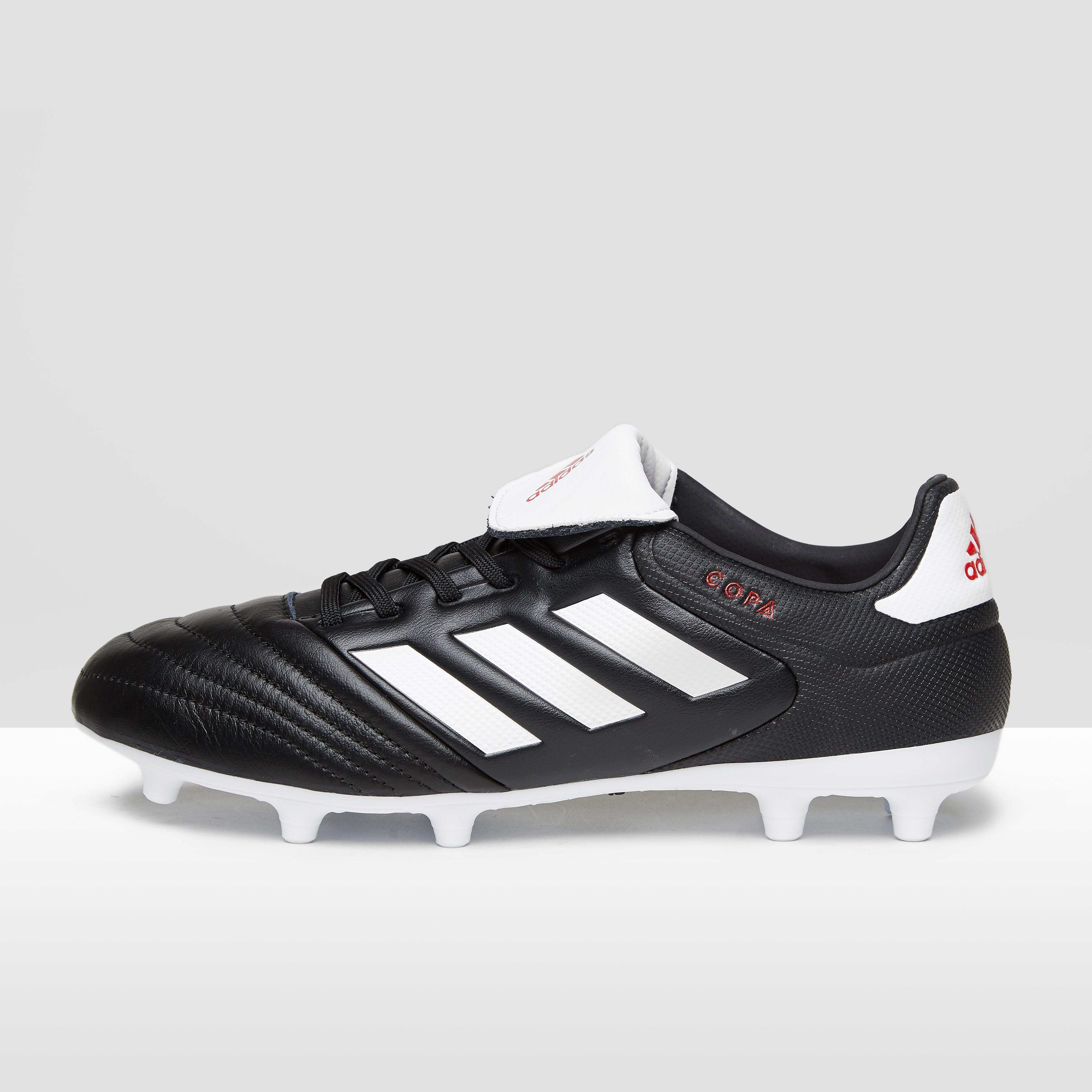 Rugbyschoenen Copa 17.3 voor droog terrein, vaste noppen, zwart