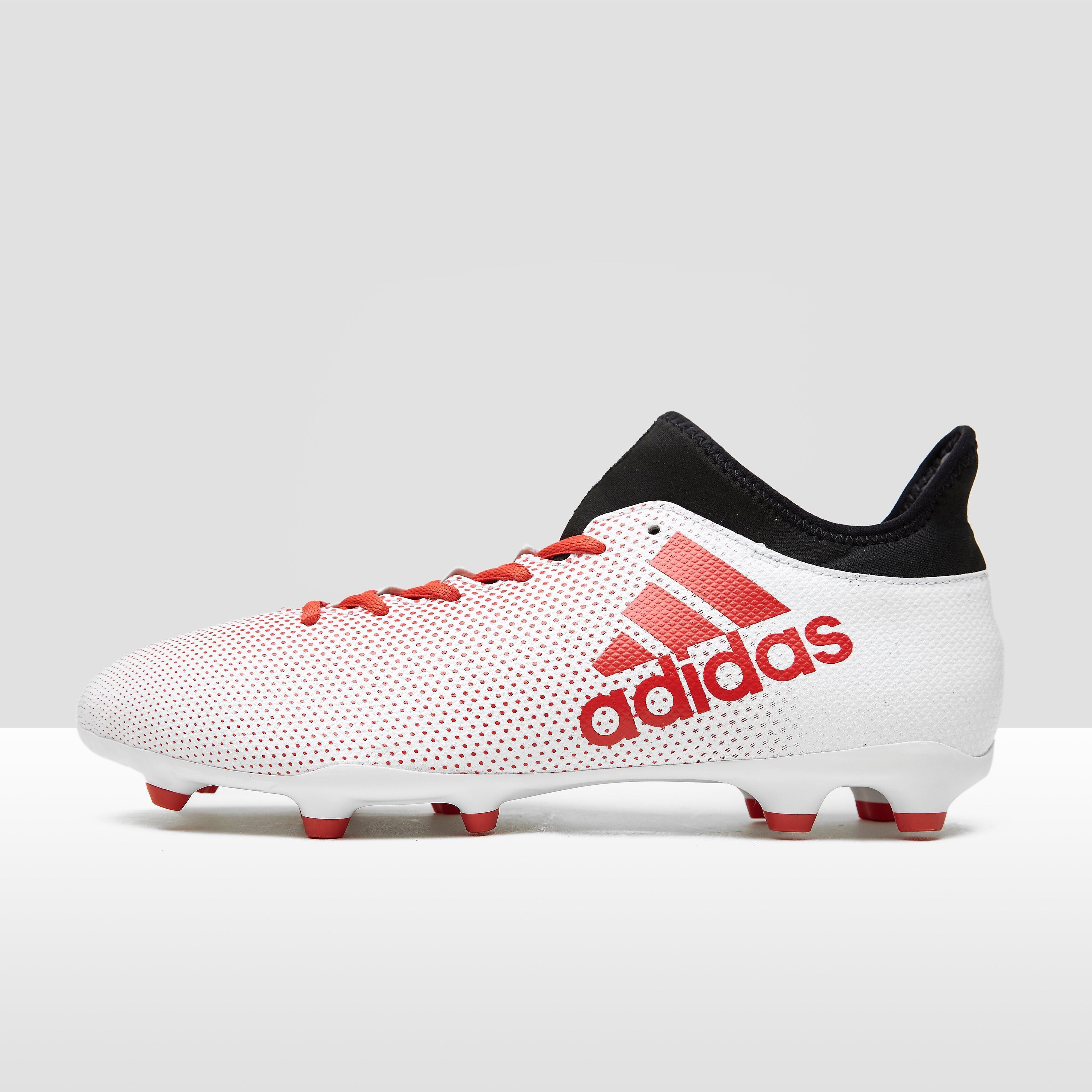 Womens X 17.3 Fg Voetbalschoenen Wit-Rood Heren. Size 45