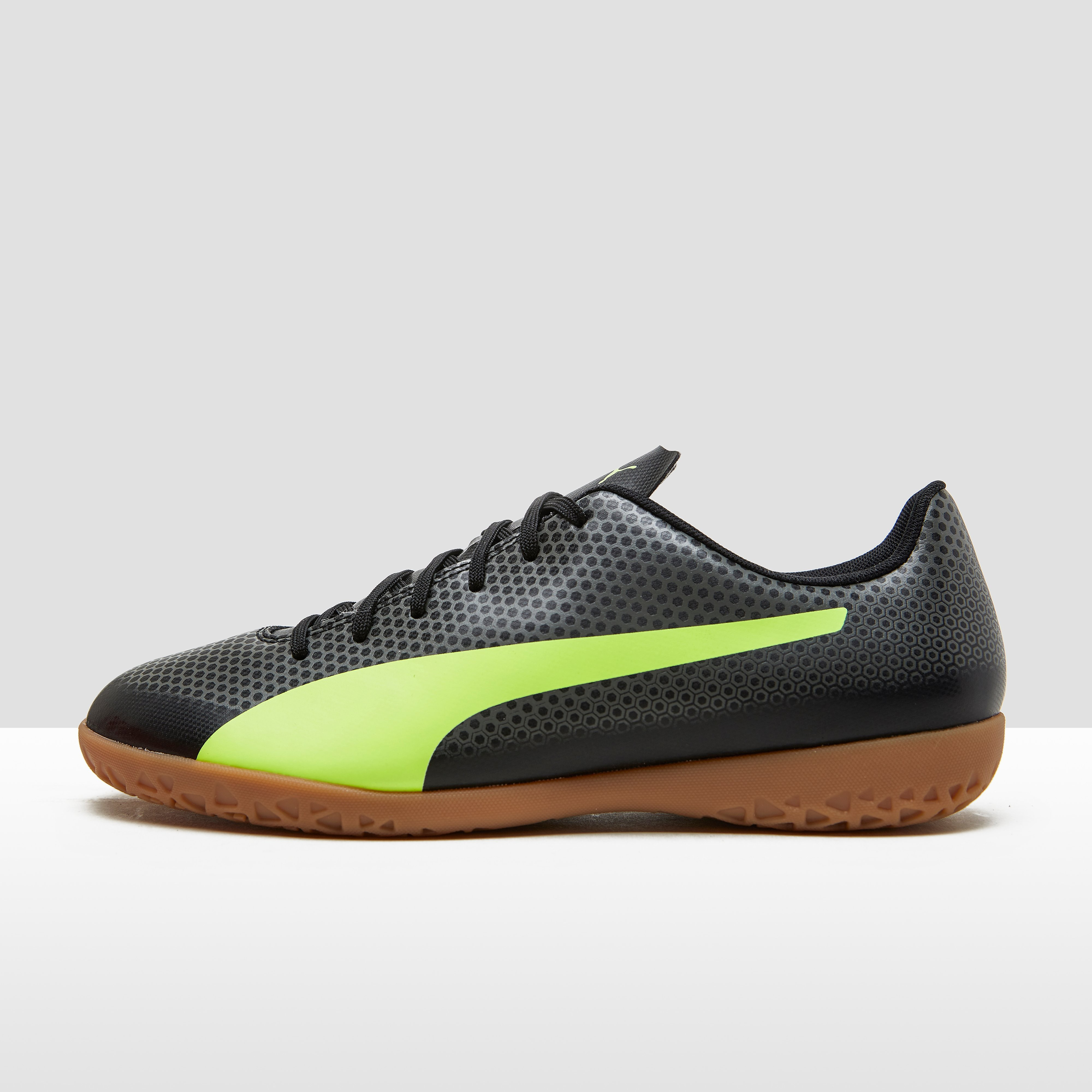 Mens Spirit It Voetbalschoenen Zwart-Geel Heren. Size 46