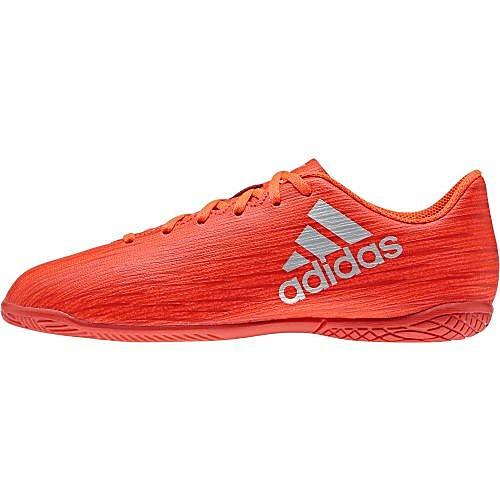 Zaalvoetbalschoenen X 16.4 voor kinderen rood