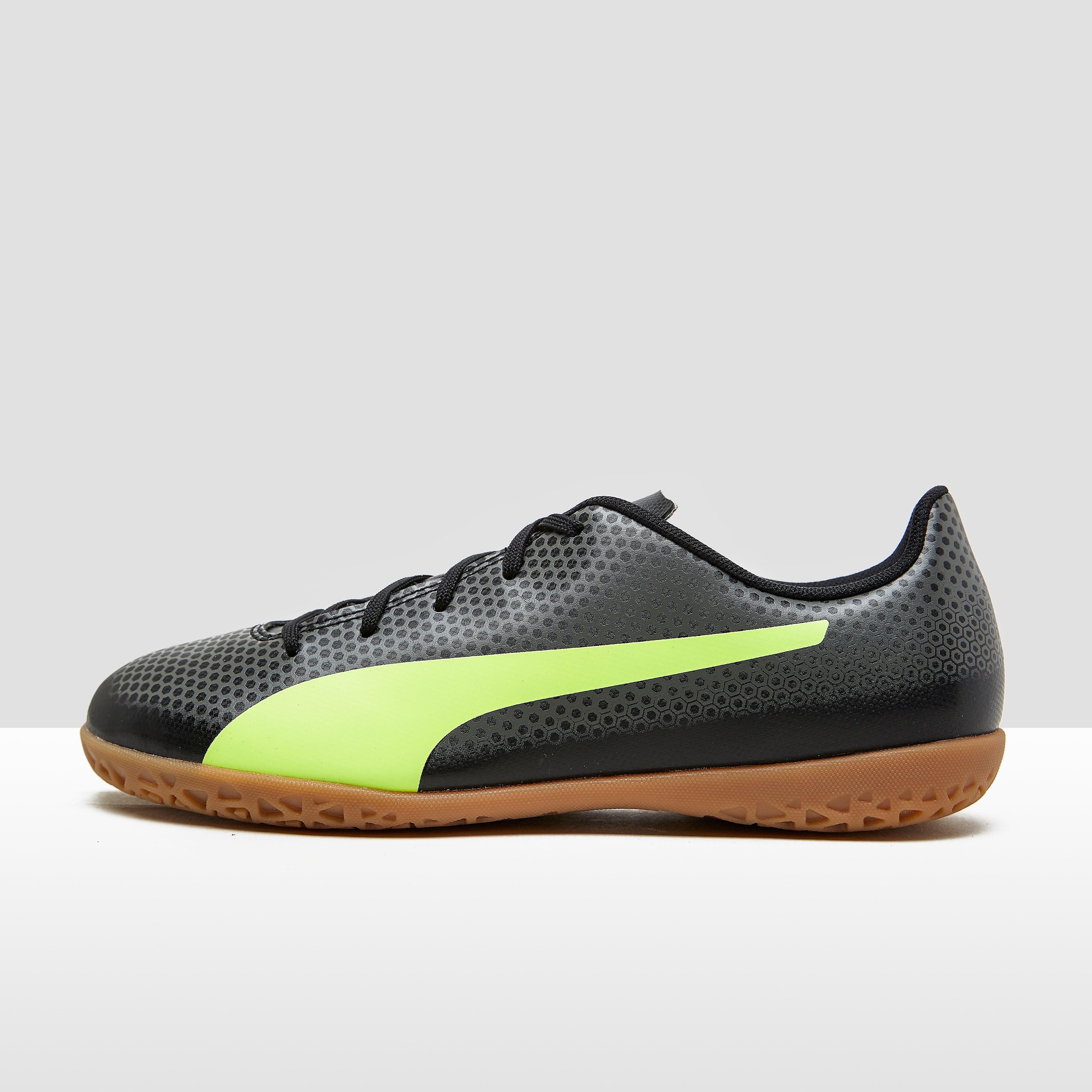 Spirit It Voetbalschoenen Zwart-Geel Kinderen. Size 38 5