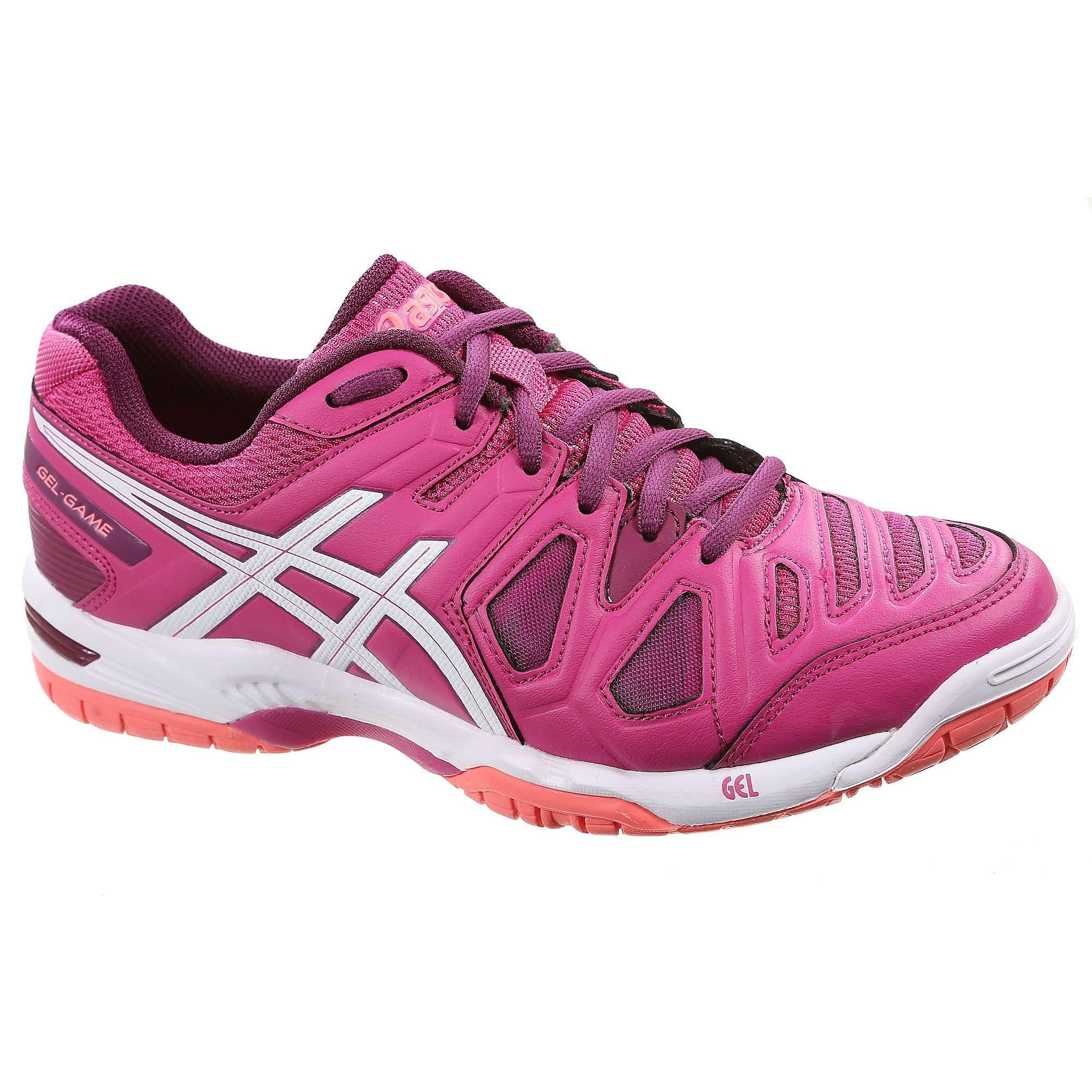 Dames tennisschoenen Asics Gel Game 5 roze