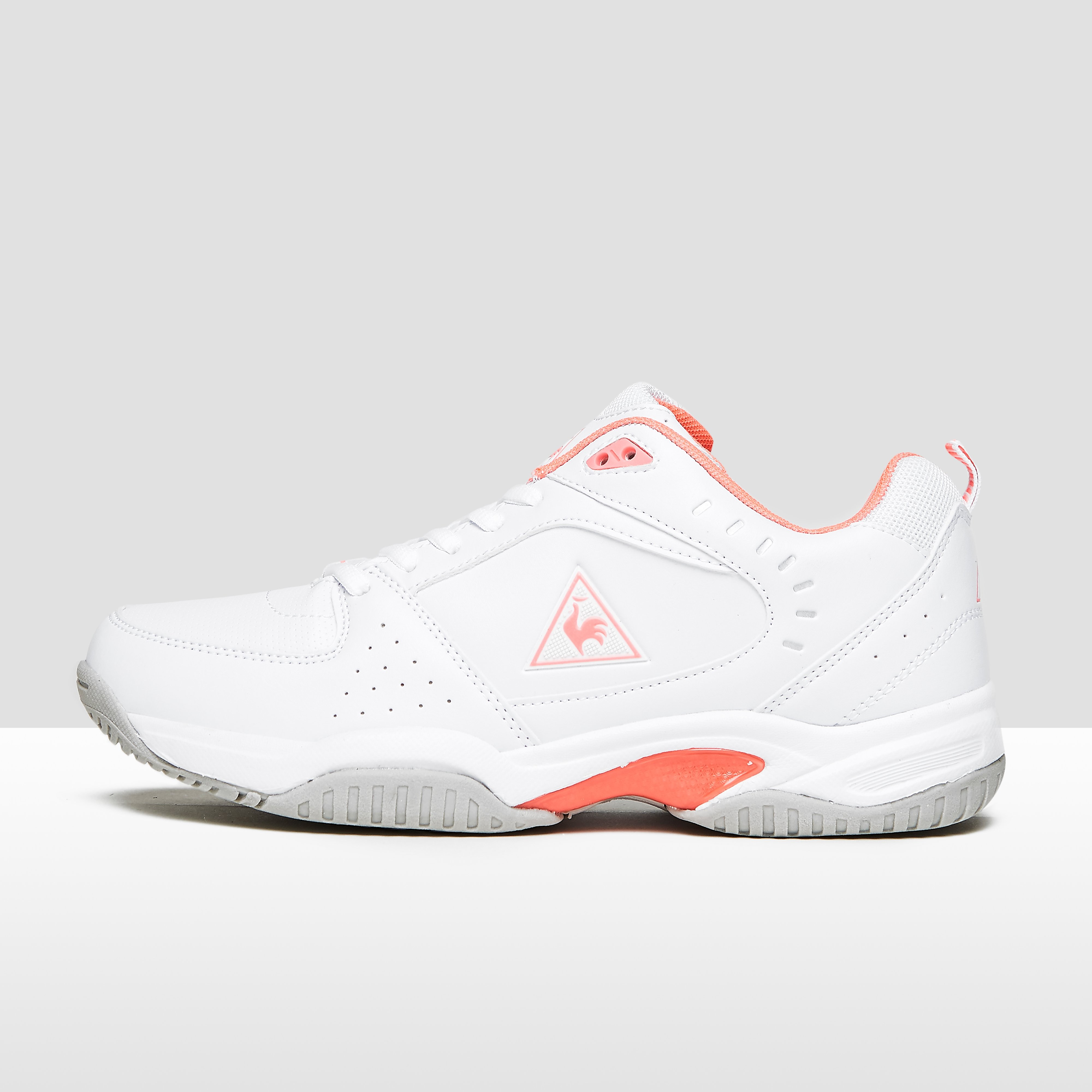 Womens Serena Tennis Tennisschoenen Wit/Roze Dames - White/Pink. Size - 42 thumbnail