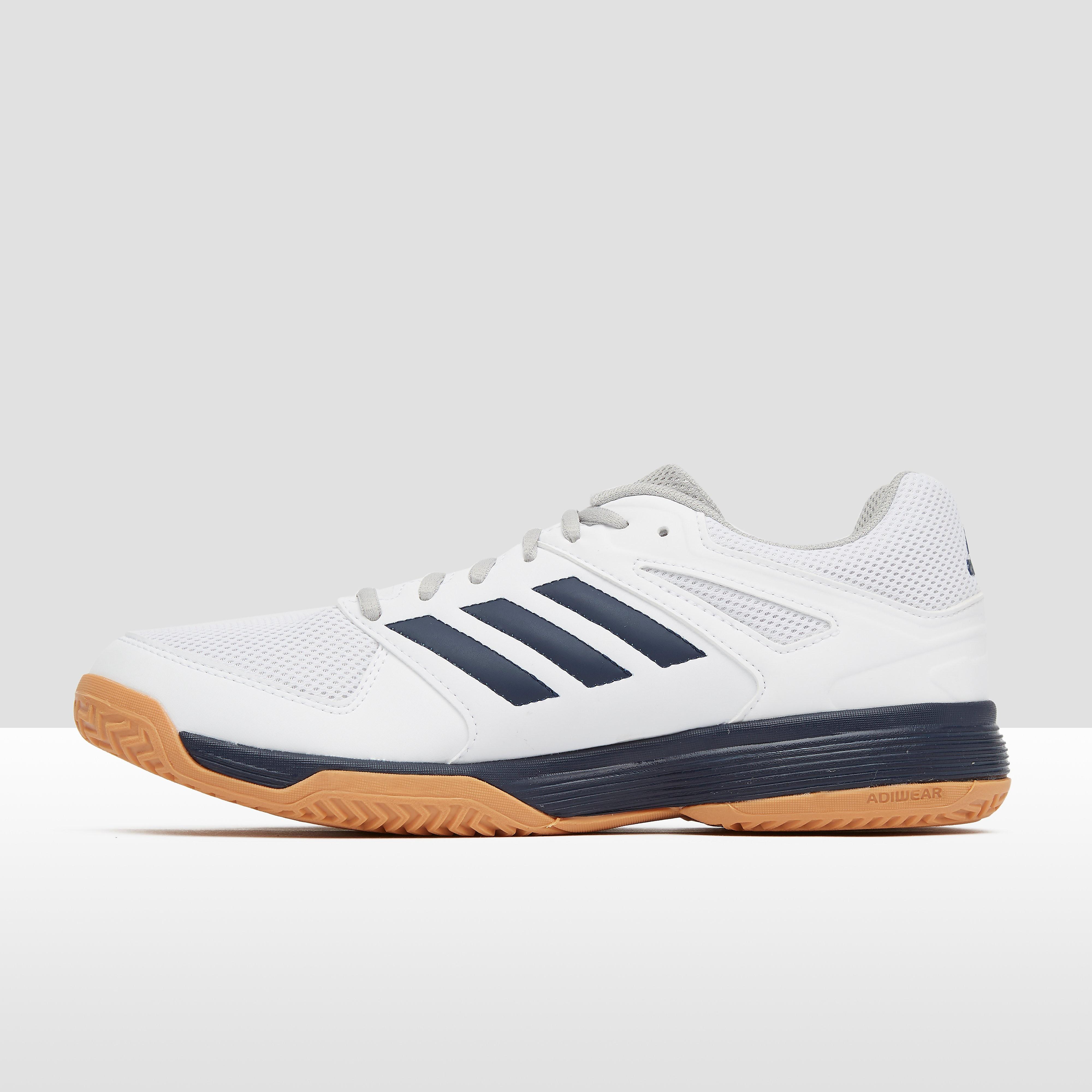 Adidas speedcolumbiart indoorschoenen wit/zwart heren