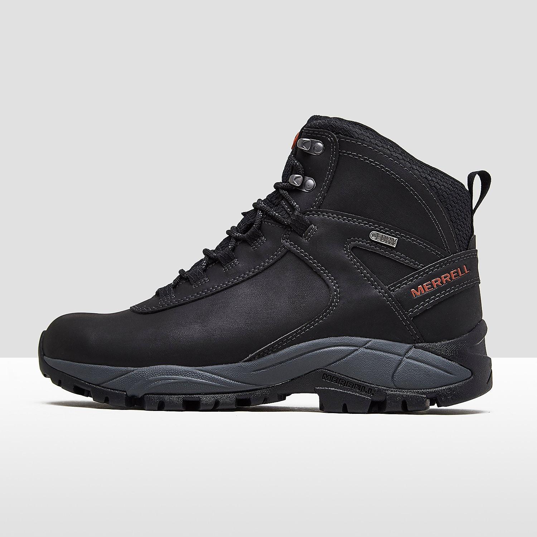 Merrell vego mid leather wandelschoenen zwart heren