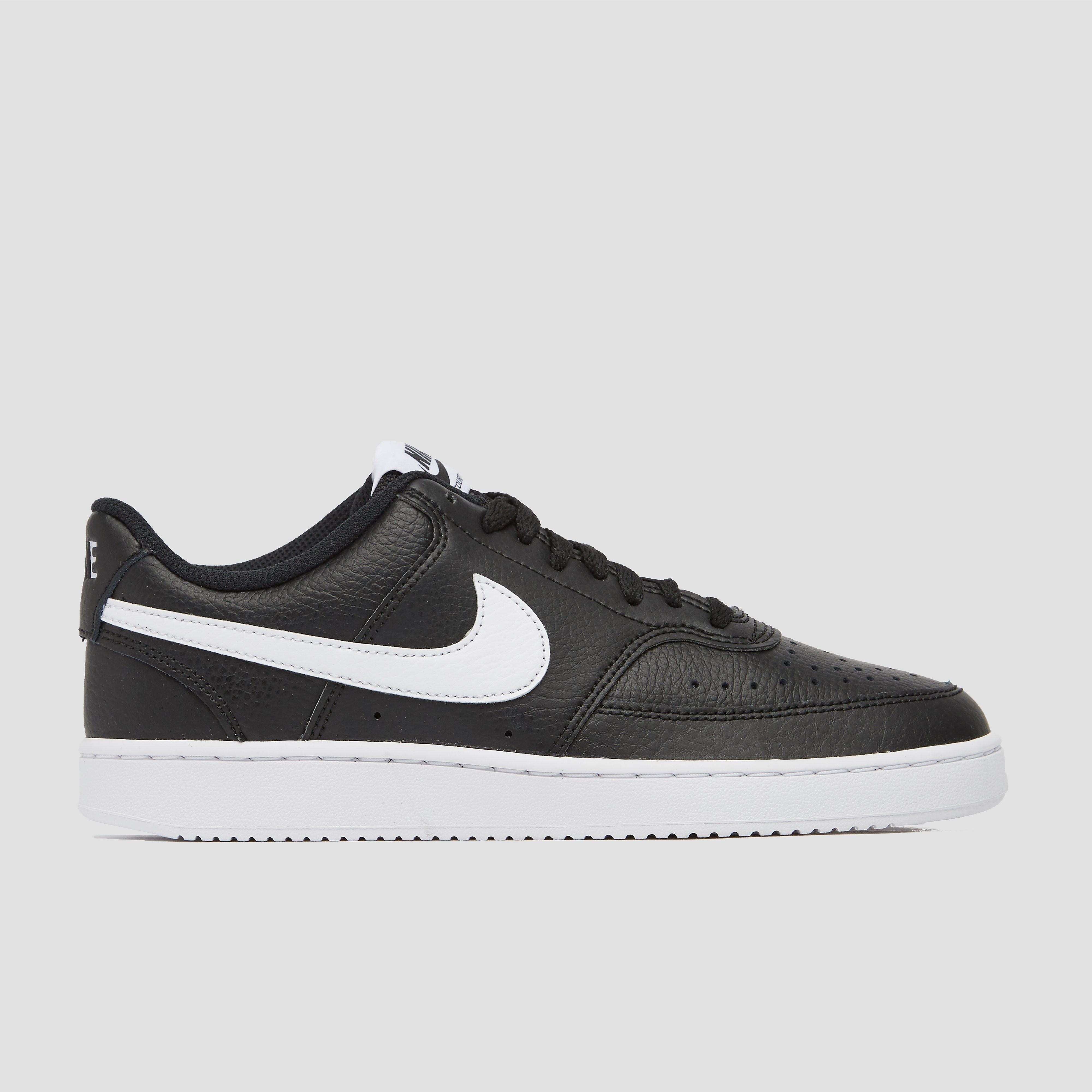 Nike court vision low sneakers zwart/wit dames kopen