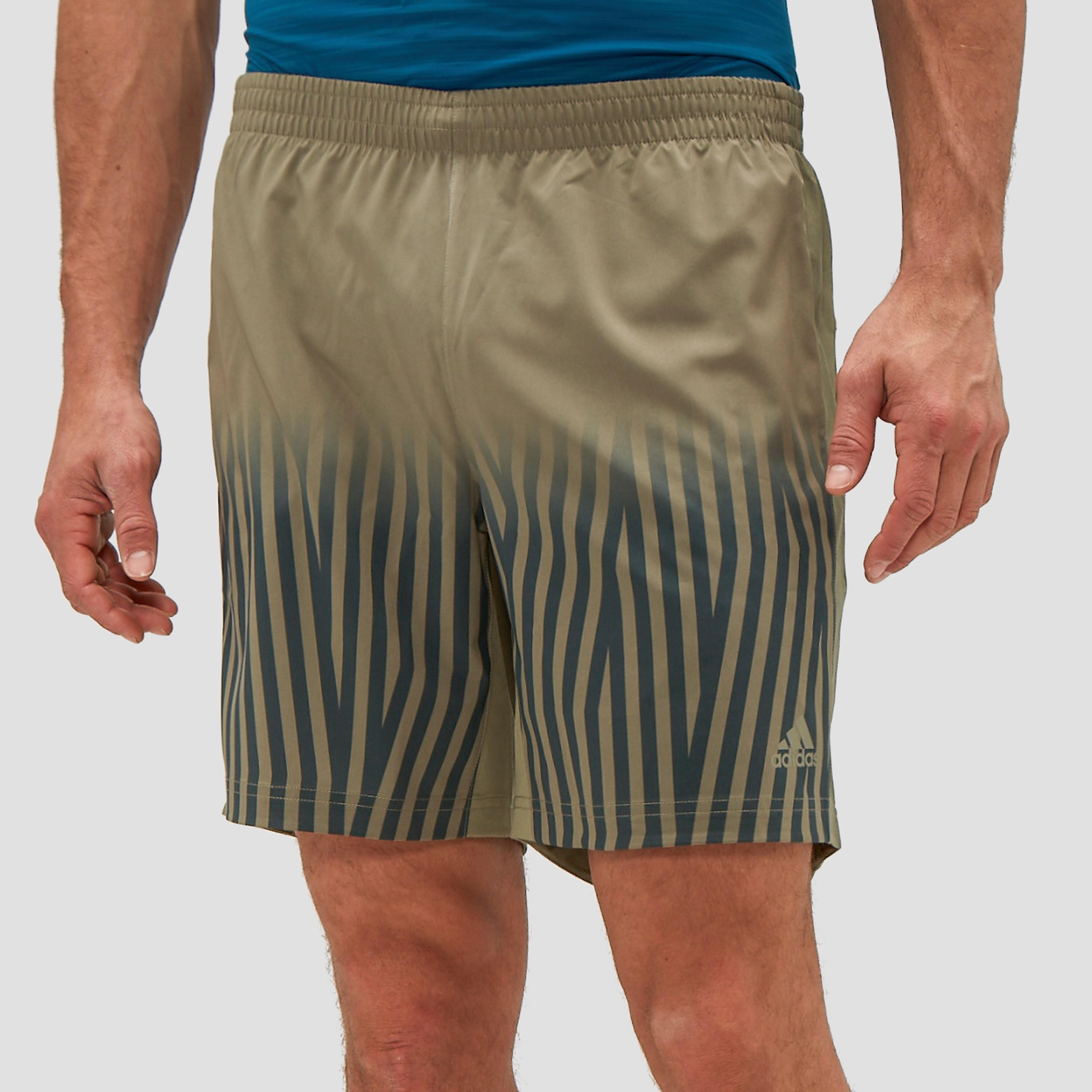 adidas Men's Supernova Print Running Shorts Trace Cargo M