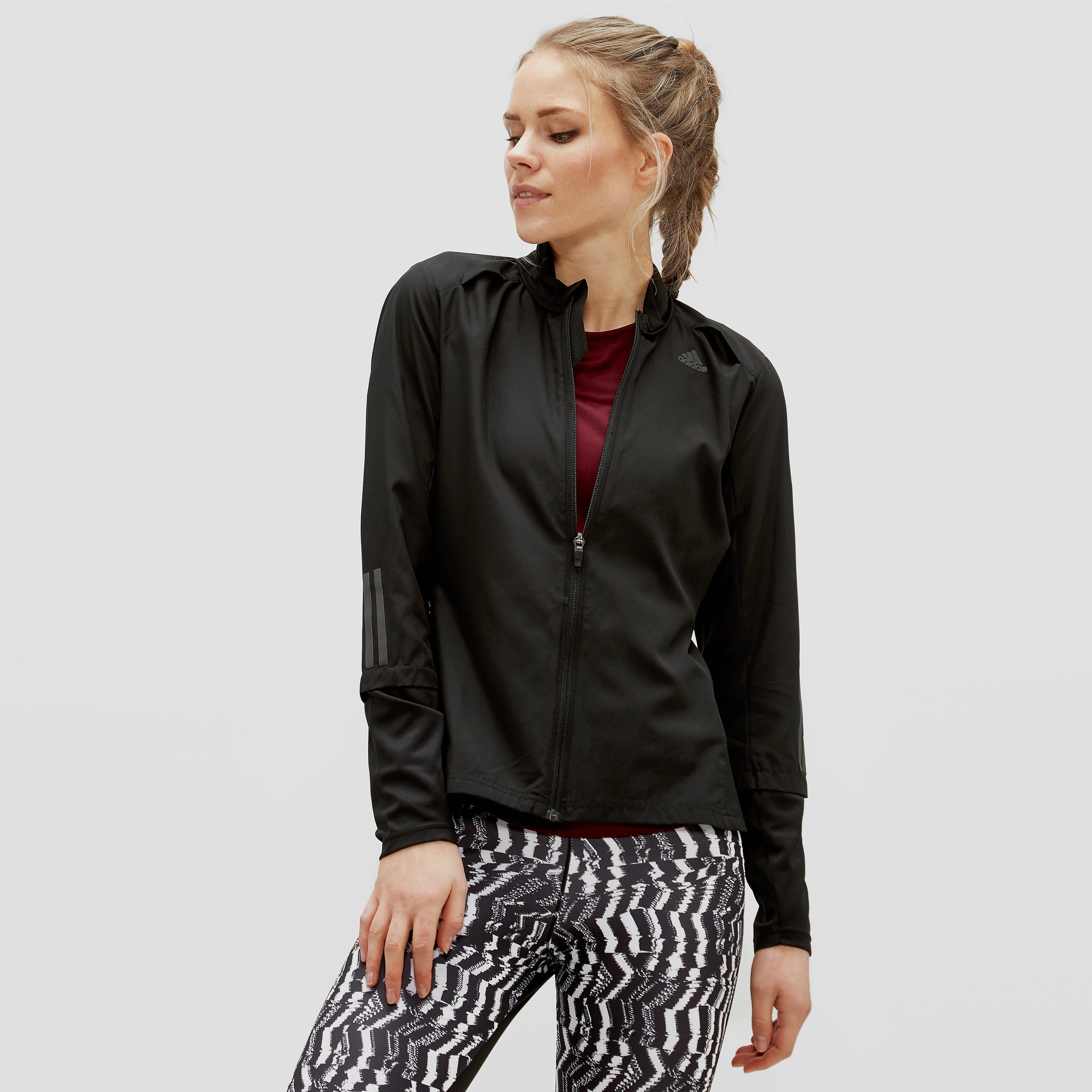 Adidas Response Wind women's running jacket (black) XS