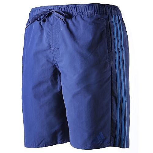 adidas 3-Stripes Watershort, Blauw, S, Male, Zwemmen