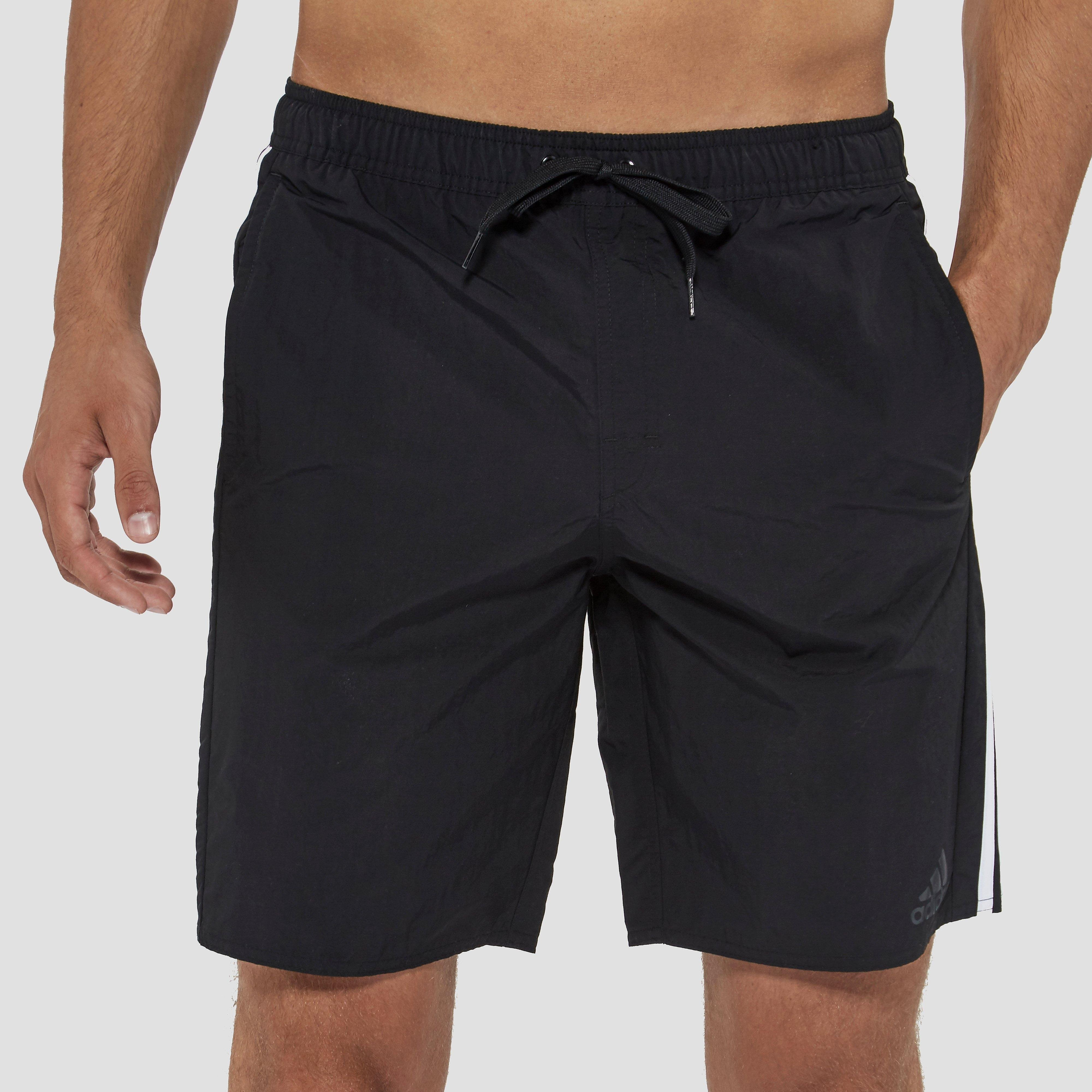 adidas 3-Stripes Watershort, Zwart, L, Male, Zwemmen