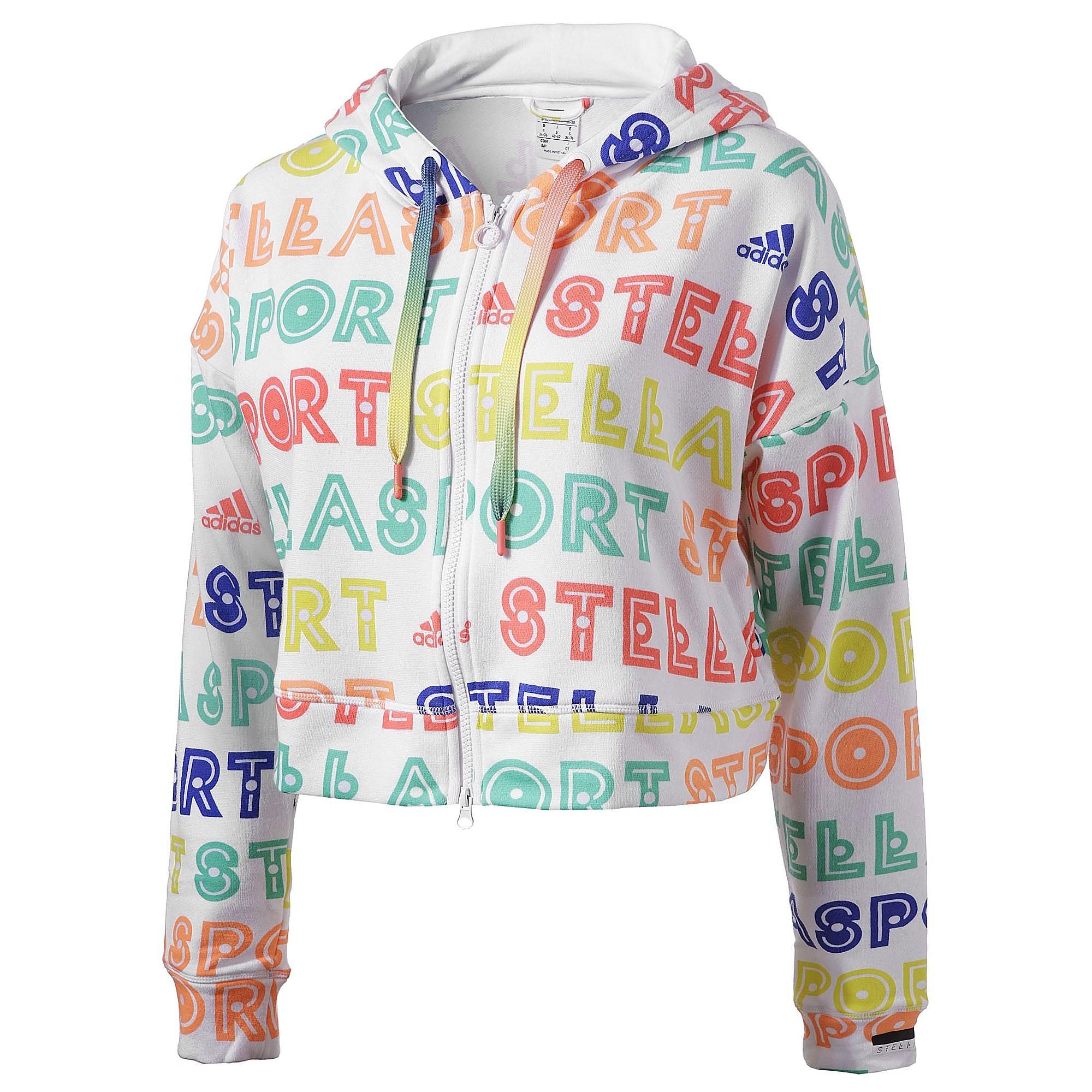 Stella allover print hoodie