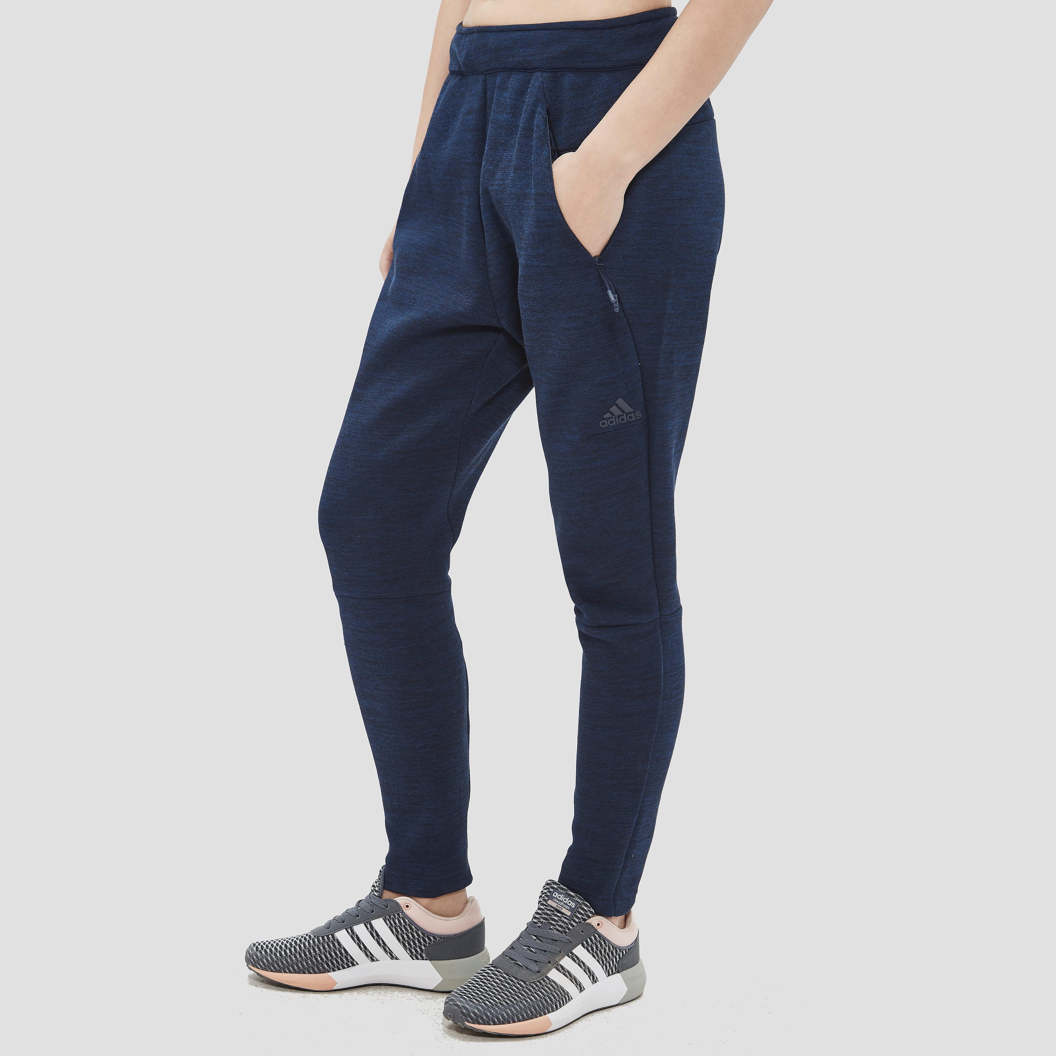 adidas Women's ZNE Travel Jogging Pants Navy M