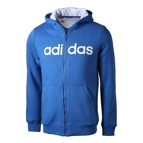 NU 15% KORTING: ADIDAS PERFORMANCE capuchonsweatvest »ESSENTIALS LINEAR FULL ZIP HOODY«