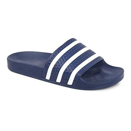 Adidas Adilette heren sportschoen EU 42 UK 8 donker blauw
