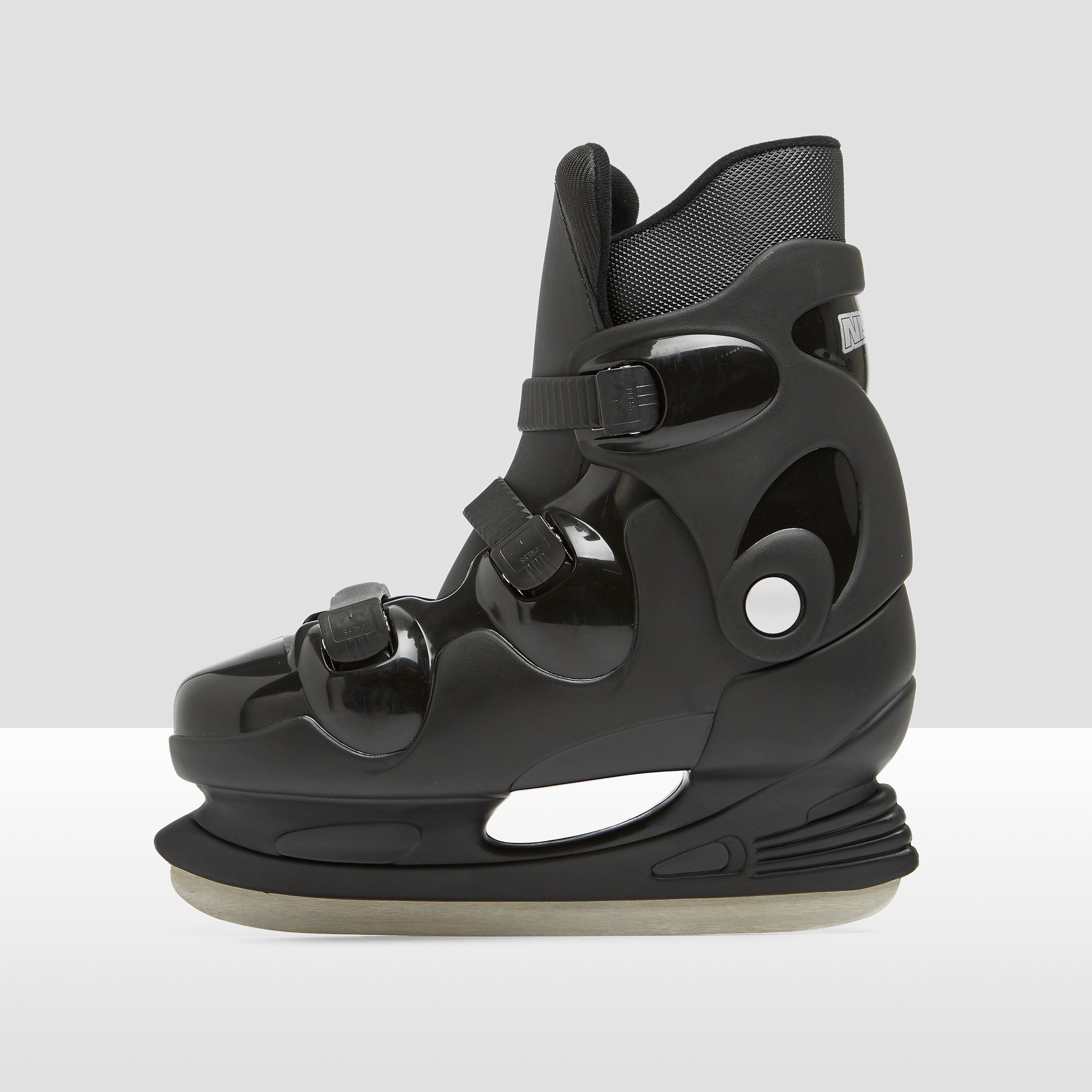 Nijdam hardboot ijshockeyschaatsen zwart