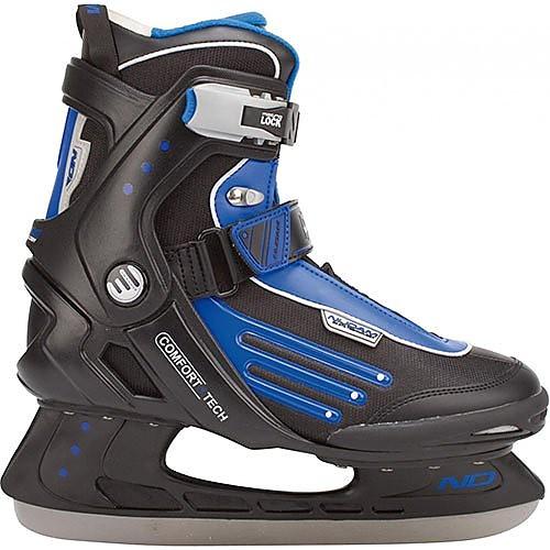 Nijdam semi-softboot ijshockeyschaatsen zwart