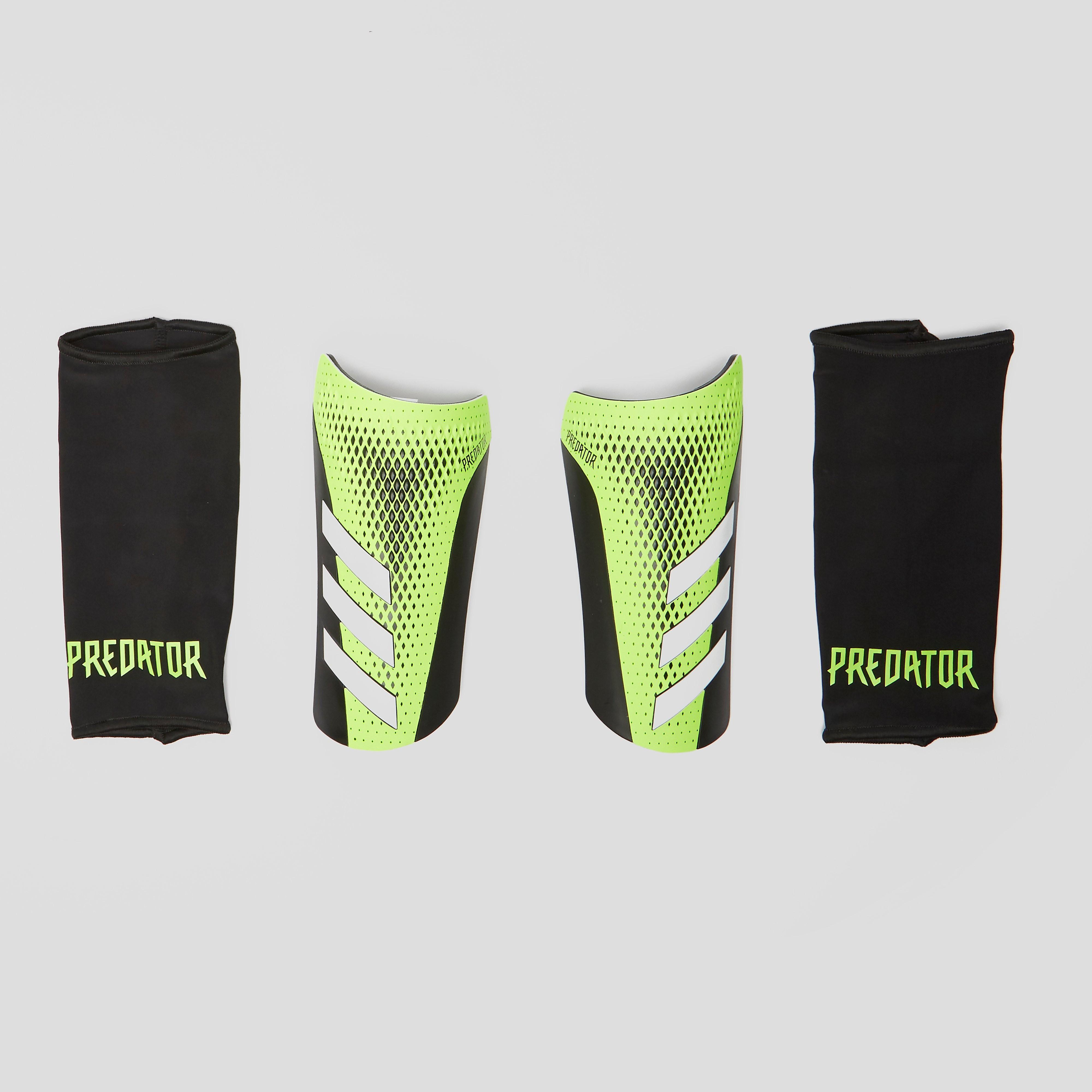 Adidas predator 20 league scheenbeschermers zwart/groen