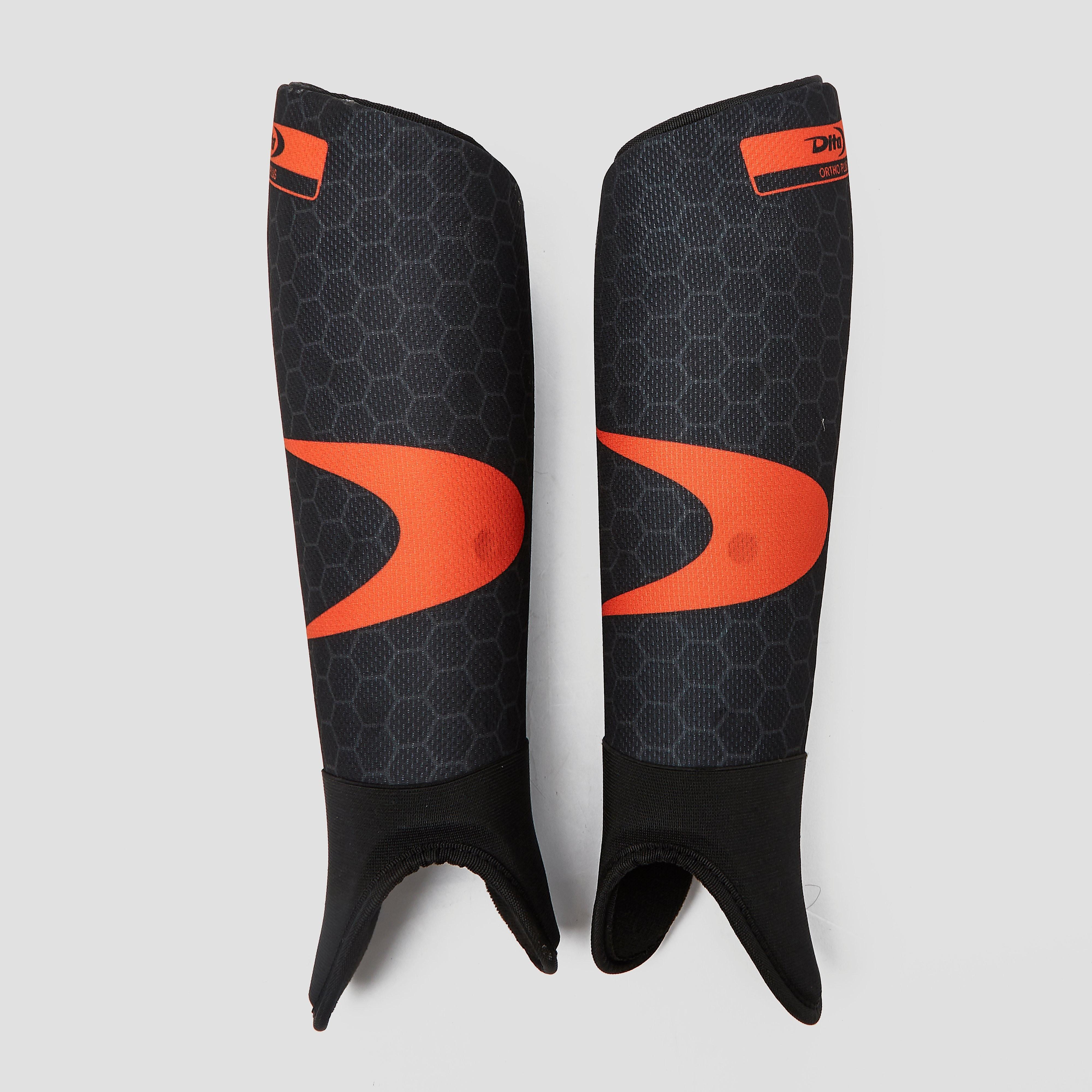 Dita ortho plus 17 hockey scheenbeschermers zwart/oranje