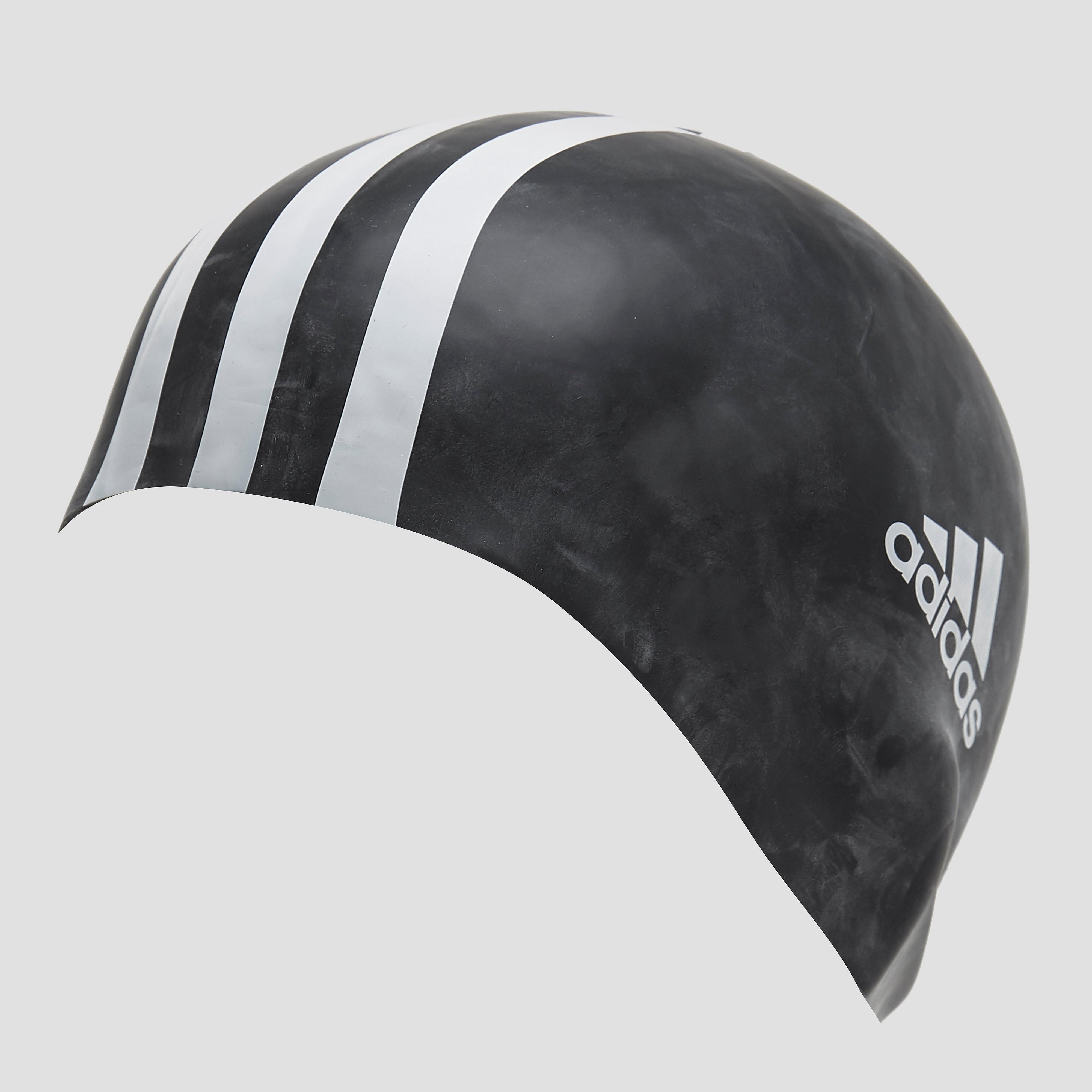 adidas 3-Stripes Siliconen Pet, Zwart, 1 Size, Male, Zwemmen