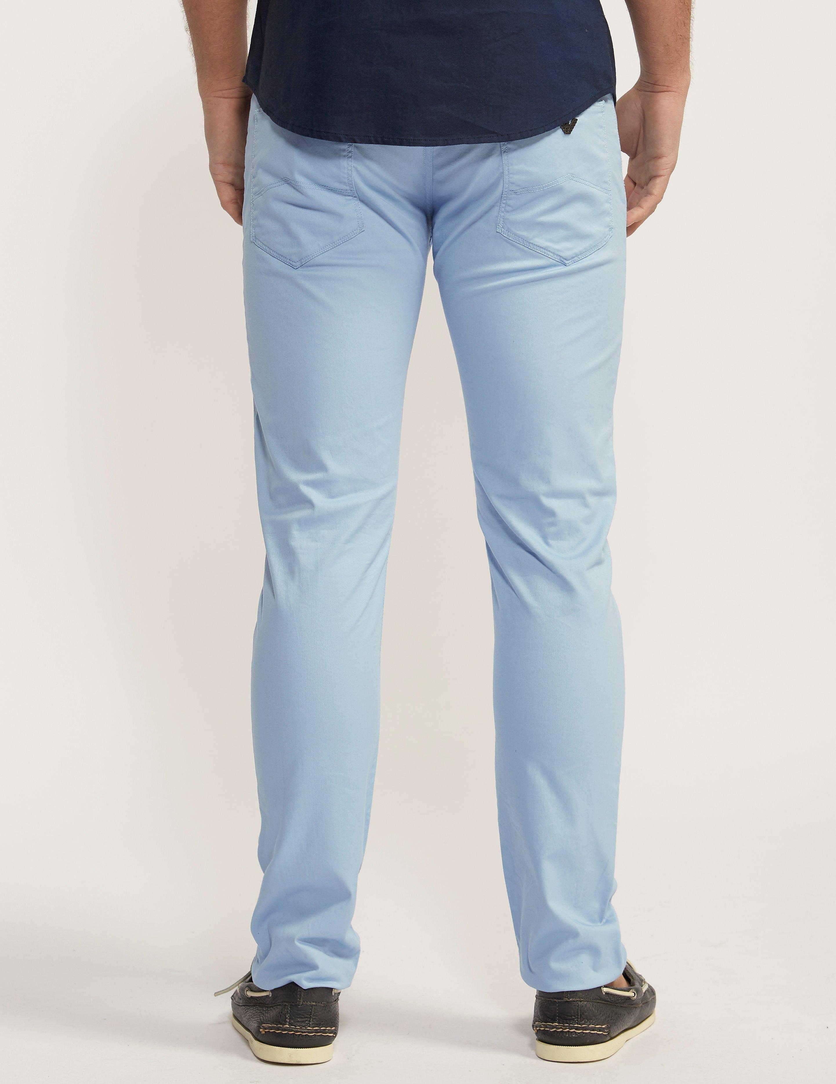 Armani Jeans J06 Cotton Chino  Long Leg