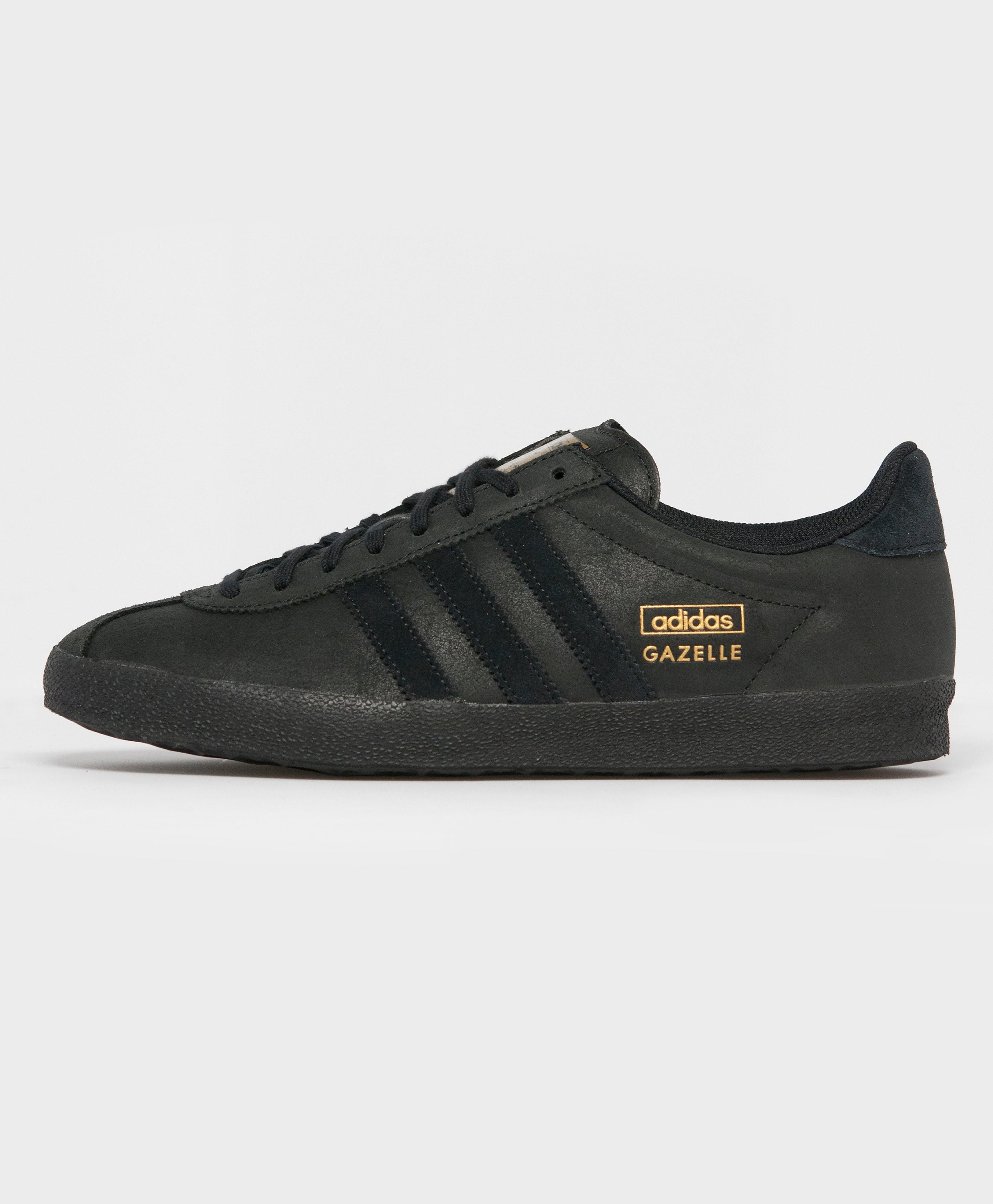 adidas Originals Gazelle OG Leather  BlackGold BlackGold