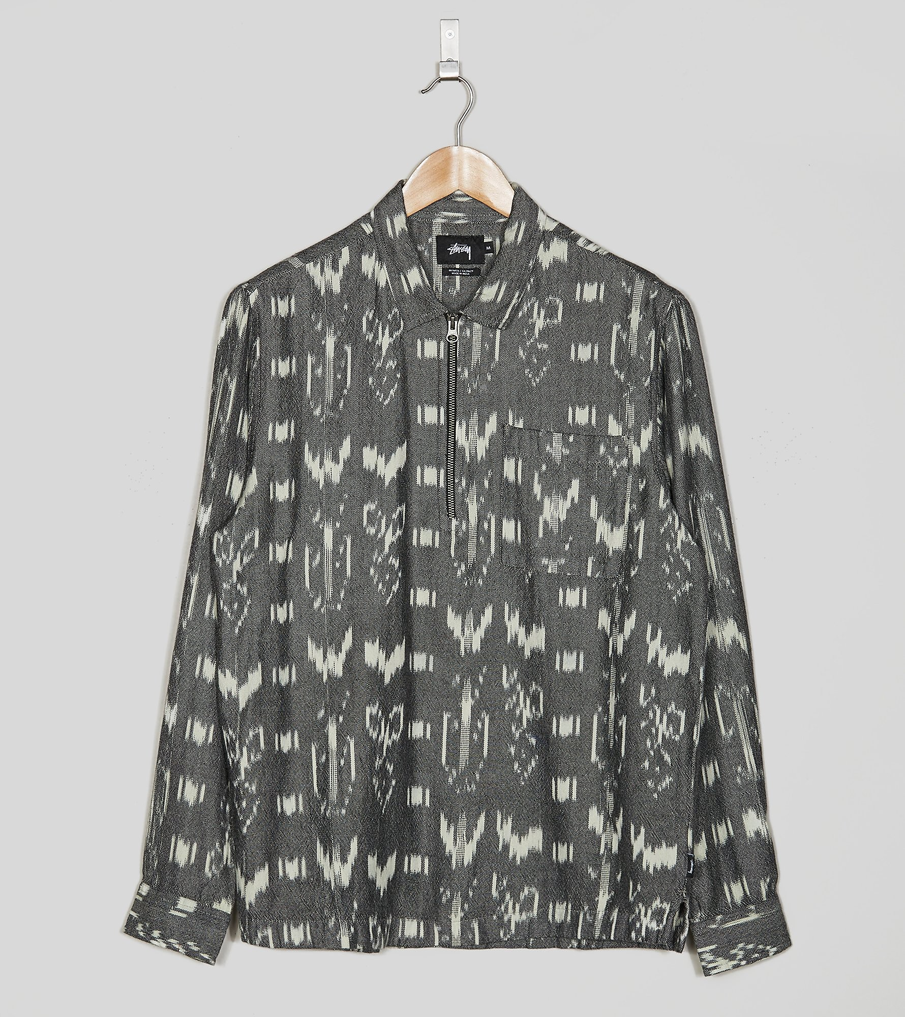 Stussy Ikat Shirt, Black