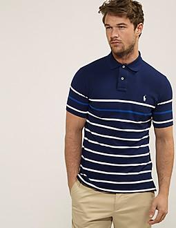 Polo Ralph Lauren Stripe Custom Fit Polo Shirt
