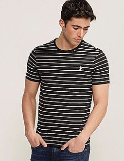 Polo Ralph Lauren Stripe Custom Fit T-Shirt