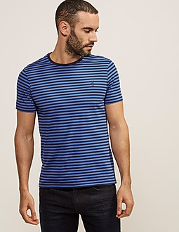 Polo Ralph Lauren Stripe Custom Fit T-Shirt
