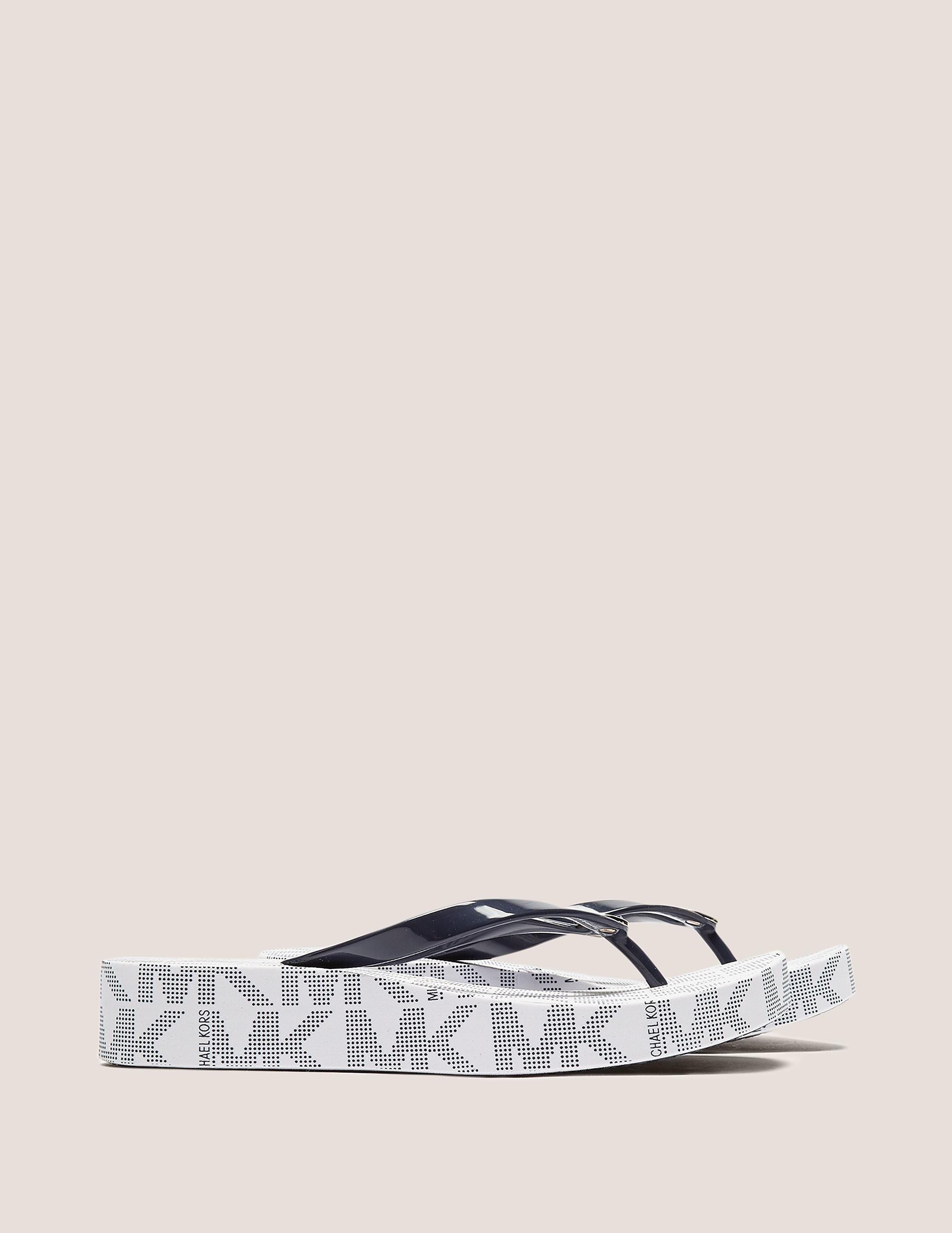 Michael Kors Bedford Logo Flip Flop