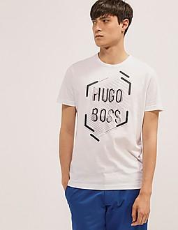 BOSS Green T-Shirt 1 Letter Logo