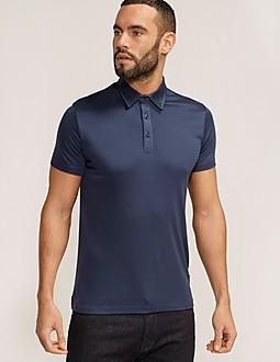 Armani Jeans M'Tab Detail Polo Shirt