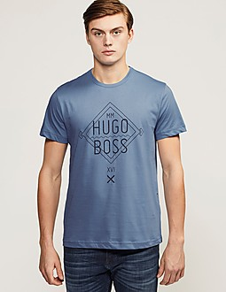 Boss Green 1 Diamond Logo T-Shirt