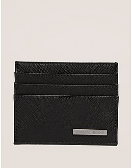 Armani Jeans Saffiano Card Holder