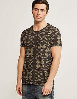 Scotch & Soda All-Over Print T-Shirt