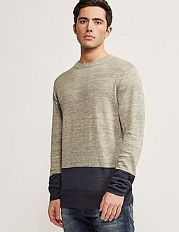 Scotch & Soda Home Alone Two-Tone Knit