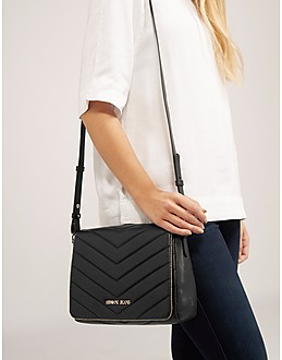 Armani Jeans Panelled Quilt Crossbody Bag