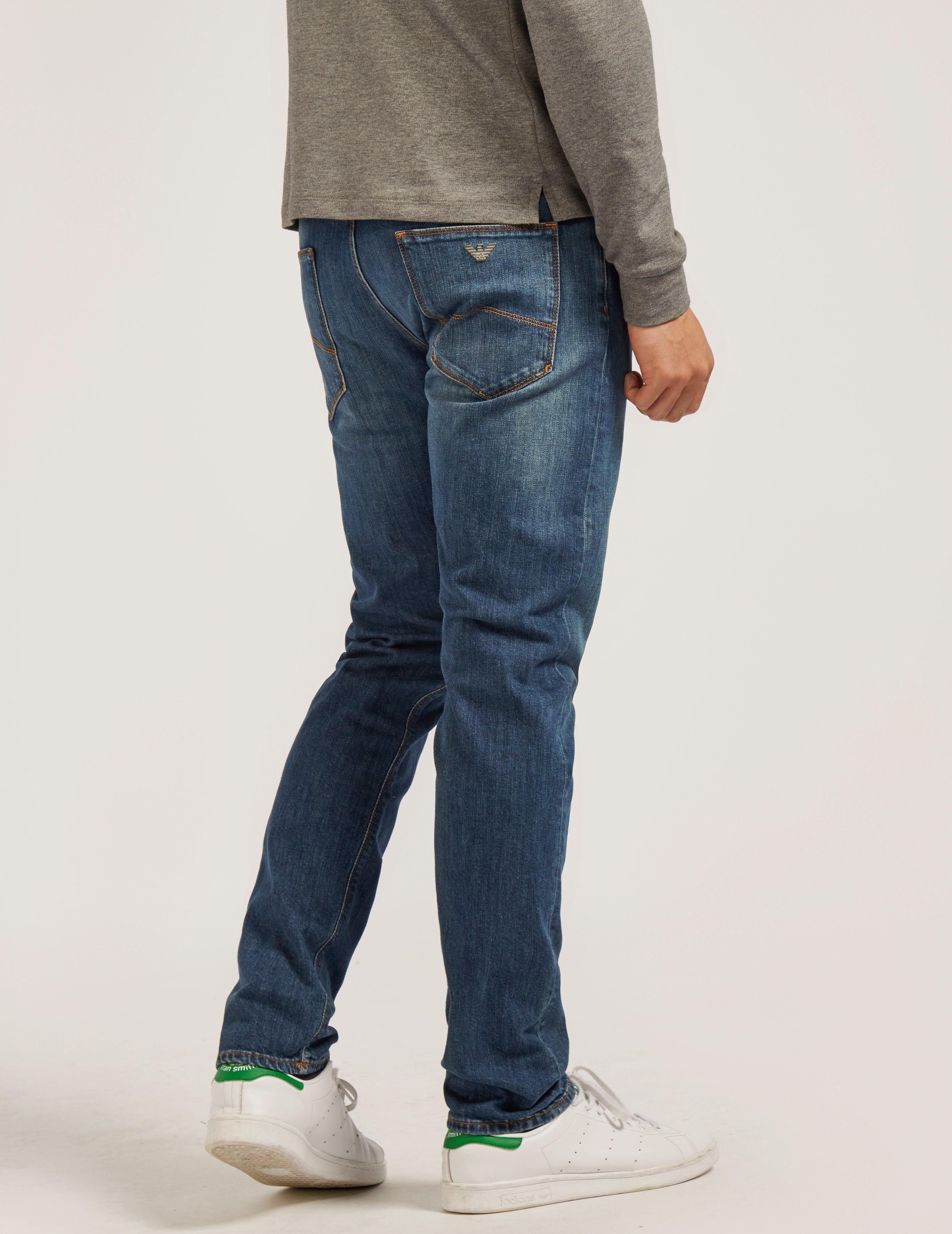Armani Jeans J06 Midwash Jean