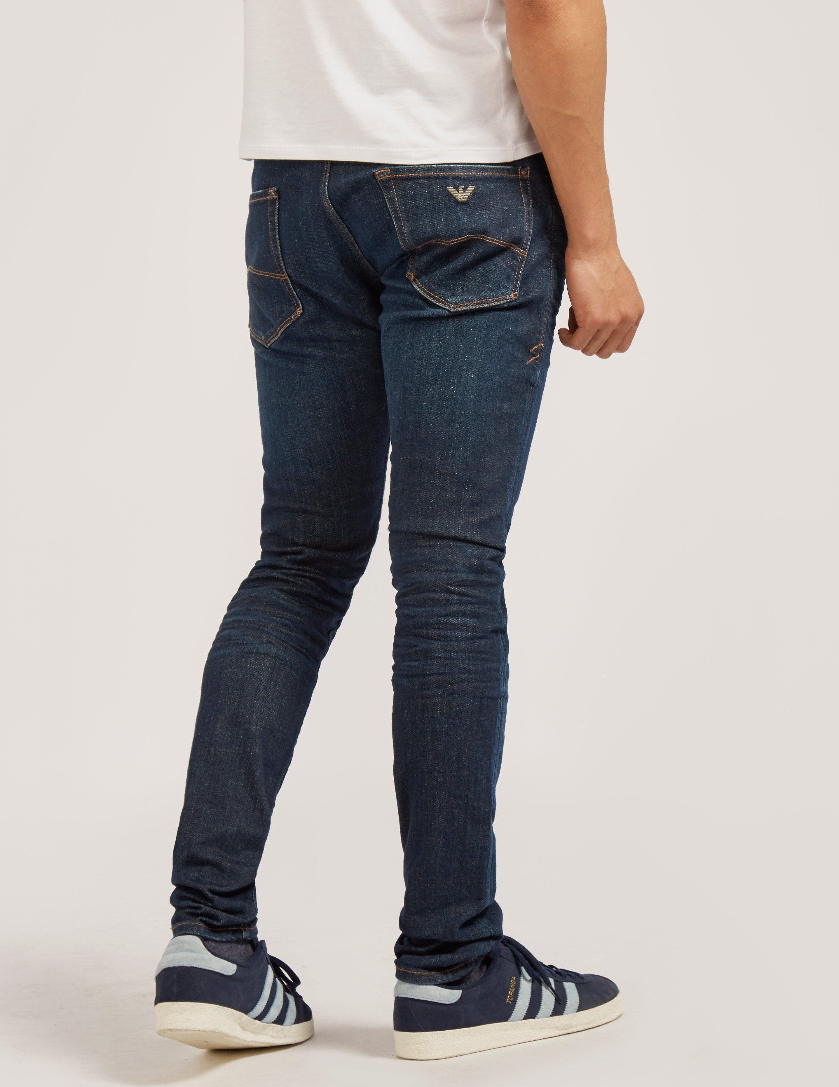 Armani Jeans J35 XSlim Wash Jean