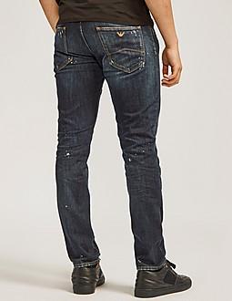 Armani Jeans J06 Paint Jeans - Long Length