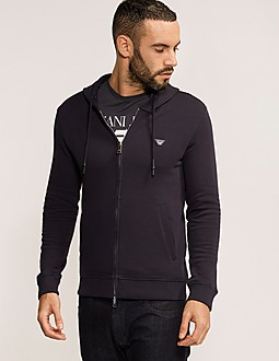 Armani Jeans Eagle Hooded Track Top