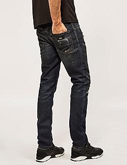 Just Cavalli Distressed Regular Slim Jean