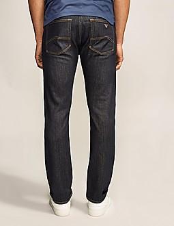 Armani Jeans J45 Straight Leg Jean