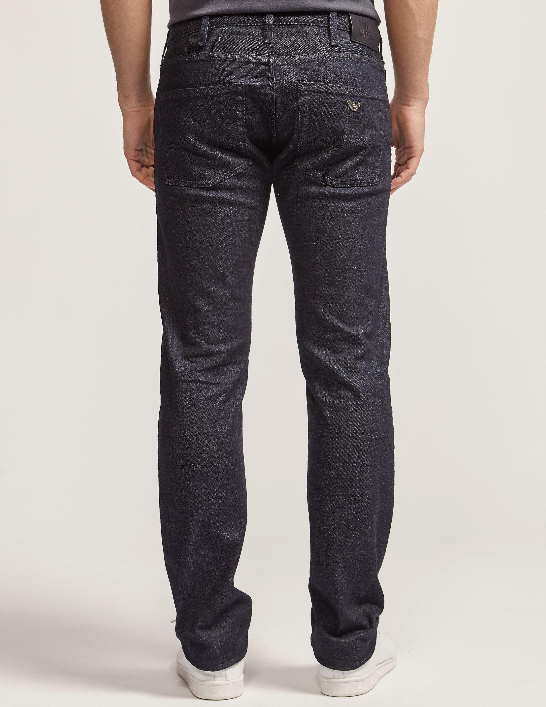 Armani Jeans J45 Slim Fit Jeans - Long