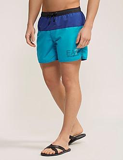 Emporio Armani EA7 Colour Block Swim Shorts