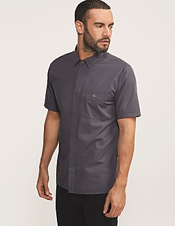 Vivienne Westwood Stretch Poplin Short Sleeve Shirt
