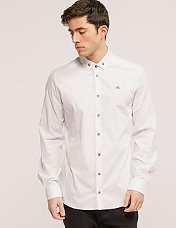 Vivienne Westwood Stretch Poplin Long Sleeve Shirt